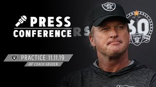 Coach Gruden Discusses Signing D.J. Swearinger & Dion Jordan | Raiders