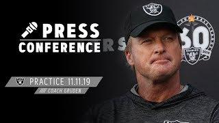 Coach Gruden Discusses Signing D.j. Swearinger & Dion Jordan   Raiders