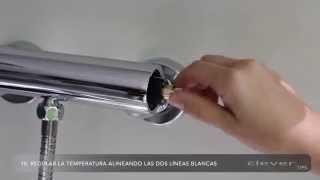 Cambio del cartucho termostático de un grifo Clever