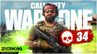 34 Kills In A Game Of WARZONE! (Call of Duty: Modern Warfare)