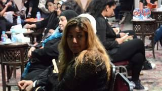 نجمات مصر يقدمن واجب العزاء في الراحل وائل نور