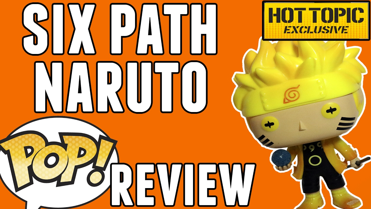 SIX PATH NARUTO – Glow in the Dark (Hot Topic Exclusive)   Funko Pop! Review