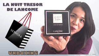 PERFUME LA NUIT TRESOR DE LANCOME UNBOXING Y PRIMERAS IMPRESIONES