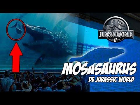 MOSASAURUS DE JURASSIC WORLD! RECINTO DE MOSASAURUS! JURASSIC WORLD ARK PARK 2