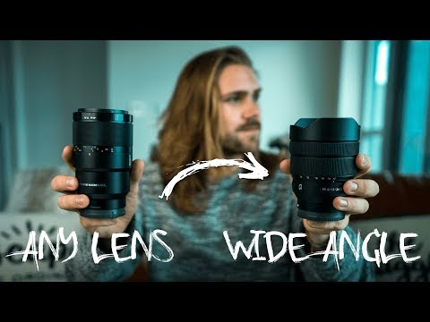 Make ANY LENS A WIDE ANGLE!