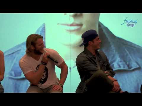 Love and Blood Itacon 3D : Chase Coleman e Michael Trevino