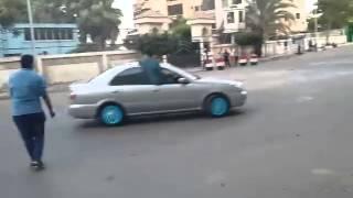 Nissan Sunny N16 drifting