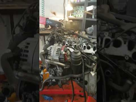 Bmw 335d N57 engine timing chain noise