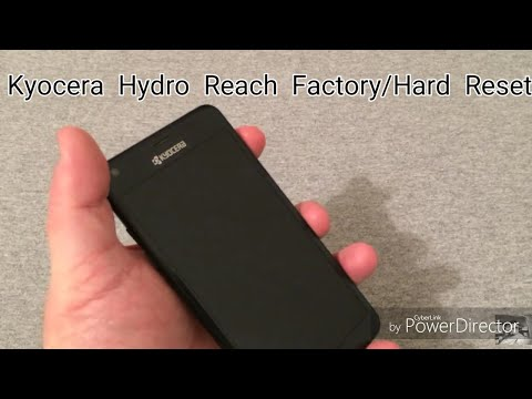 How To Factory Reset Your Kyocera Hydro Reach