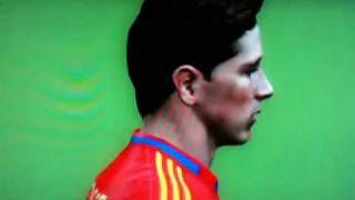 fernando torres fifa 11 game face zoom in ps3