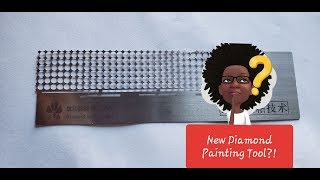 Unboxing the New Diamond Painting Tool