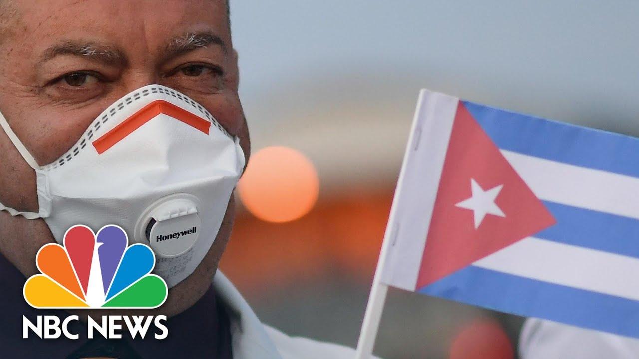 Cuban Medics Join Italy's Fight To Defeat Coronavirus   NBC News