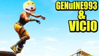 TO VICE WITH GENU, TOP 10 KINGS- FORTNITE BATTLE ROYALE Gameplay English