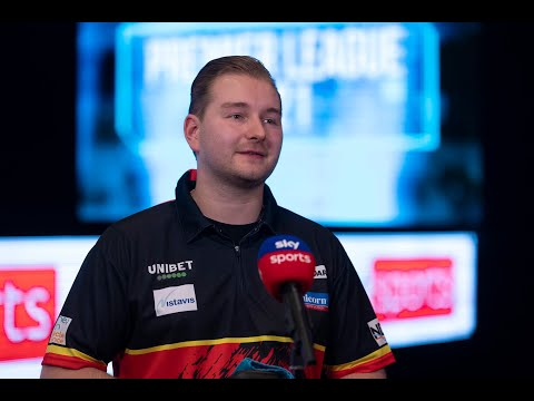 """Dimitri van den Bergh: """"To win my first floor title was a dream come true, I finally stepped up"""""""