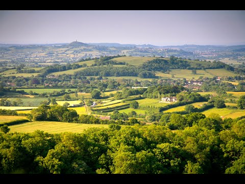 The Mendip Hills, Somerset