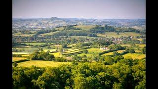 The Mendip Hills, Somerset