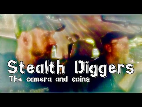 #162 The camera & coins - NH cellar hole metal detecting 1800's coins , relics & a camera