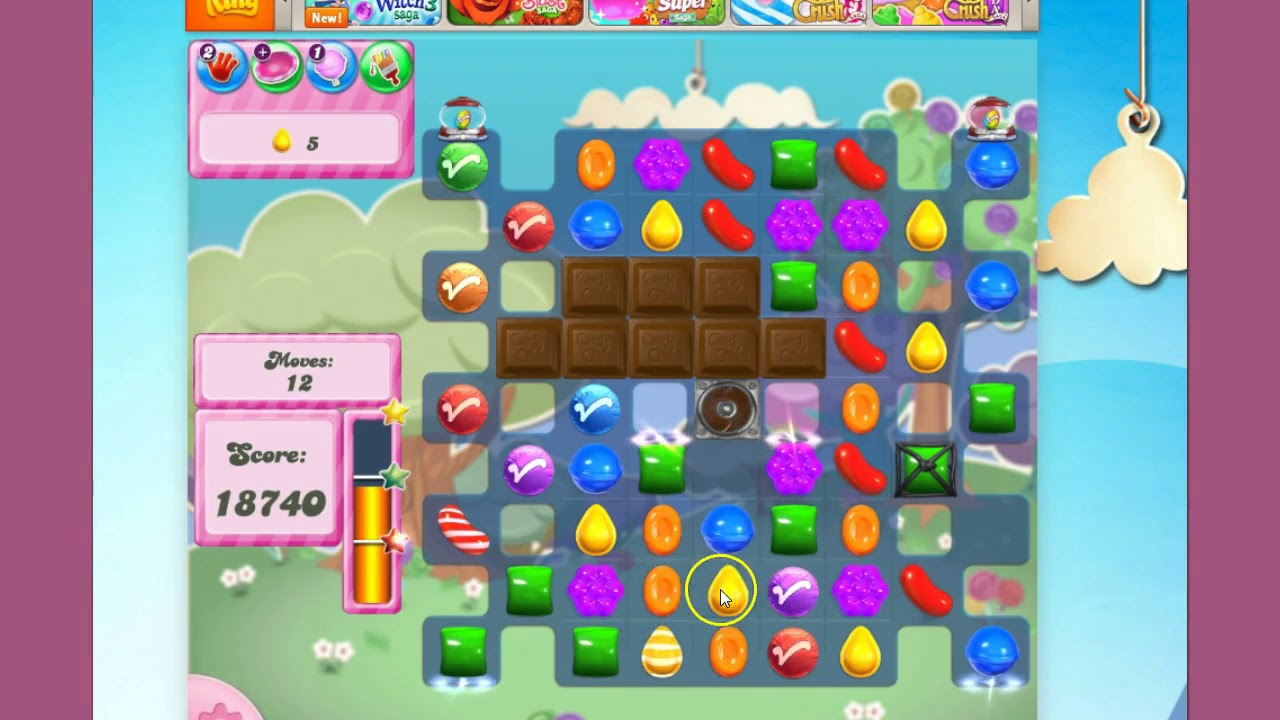 crush level candy saga last