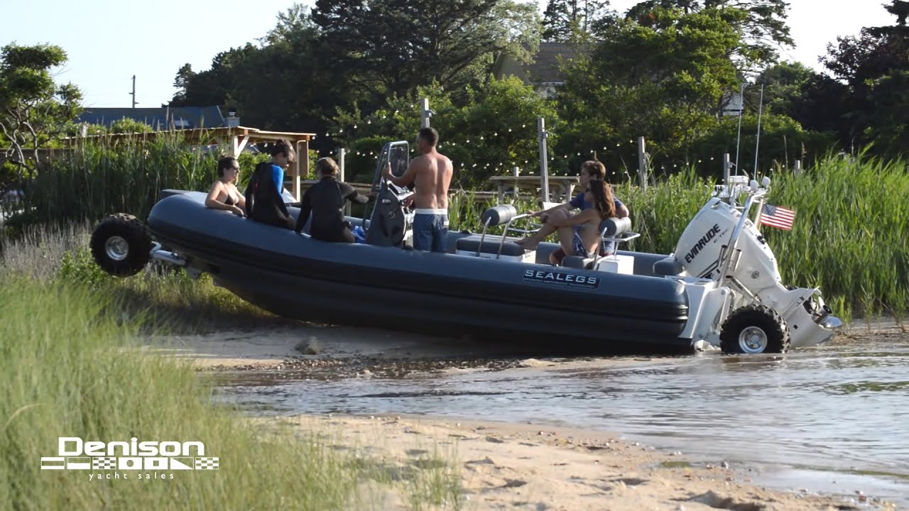 7 1m Amphibious Sport RIB - Sealegs Recreational