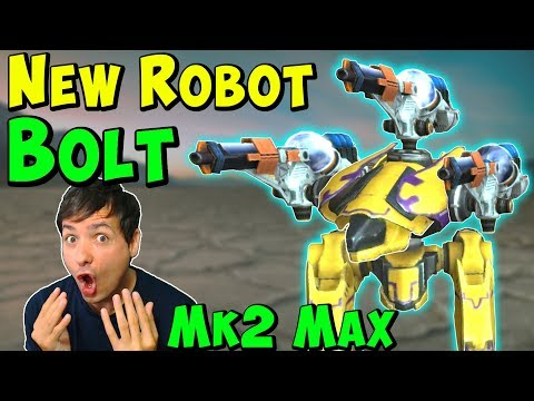 New Dash Robot BOLT Mk2 with SPARK & BLAZE Gameplay War Robots WR