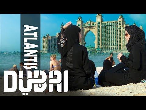 """Heaven! really is a place on earth"" Palm Jumeirah Island    Atlantis, luxurious 5* Hotel   Dubai"