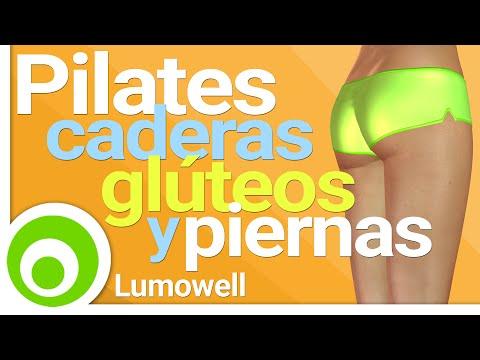 Pilates para Caderas, Glúteos y Piernas - Rutina de 8 Minutos