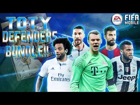 FIFA Mobile TOTY DEFENDERS Bundle Opening!!