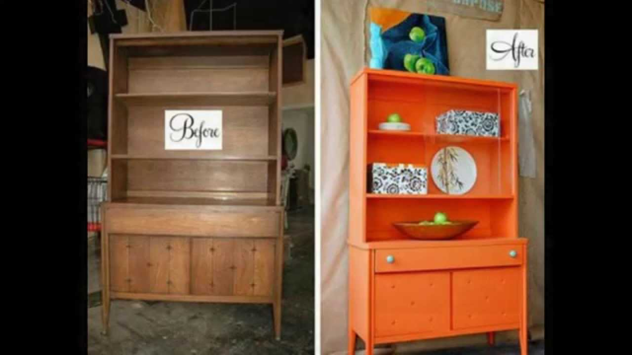 Before And After Furniture Makeover Ideas Youtube