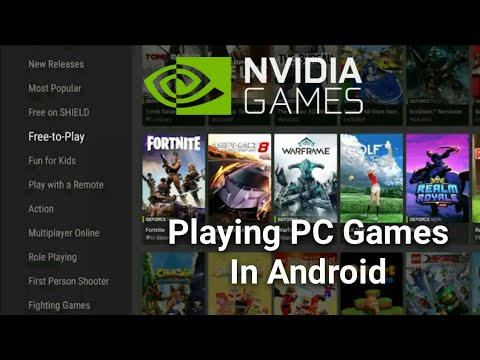 How To Download NVIDIA Games On Android | NVIDIA Games APK