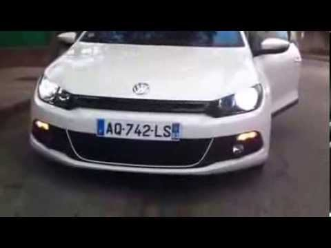 Vw Scirocco Usa >> Vw Scirocco 13 Feux Us Youtube