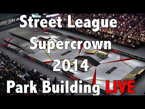Street League New Jersey SuperCrown 2014 Skate 3 Park Building LiveStream