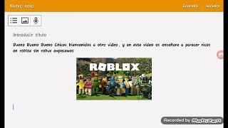 Look riche en ROBLOX-swithout robux