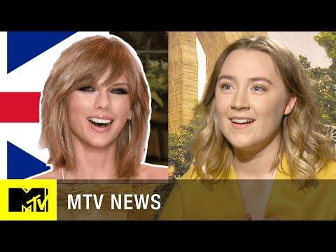 Taylor Swift Accent Challenge w Saoirse Ronan  MTV