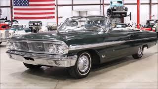 1964 Ford Galaxie green