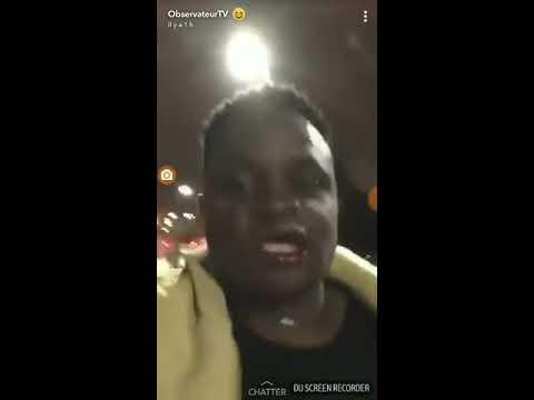 VIDEO CHOC :NOAH LUNSI TABASSE OBSERVATEUR EBENE CHEZ LUI