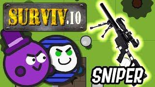 GLP und ich finden eine coole Sniper! | Surviv.io