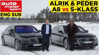 "Sense & Sensibility: Audi A8 vs Mercedes S-Class | ""S-Class has had bad Tesla influences"""
