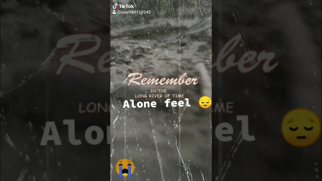 Sad status// Alone status 😔 //