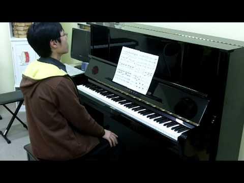 Alkan Op.39 No.10 Etude Concerto for Solo Piano Ending (My Secret Talent 2010) 阿尔坎 練習曲