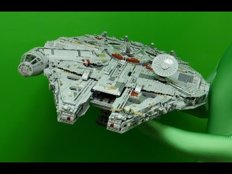 LEGO Star Wars Millennium Falcon 2017 Assembly - UltraHD