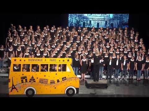 BIENVENUE A PARIS : Spectacle des 4 chorales à Anglet, le 13 mai 2017