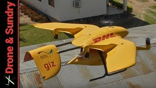 DHL Medical Delivery Drone Tanzania - Wingcopter - Parcel Copter 4
