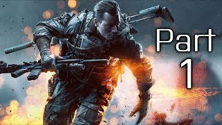 Battlefield 4 Gameplay Walkthrough Part 1 - Campaign Mission 1 - Baku (BF4) thumbnail