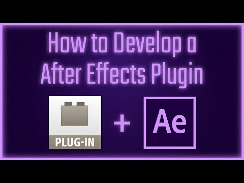 Plugin Development For After Effects - 01 Introduction