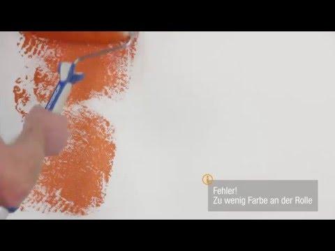 Profi-Maler-Tipp 2 - Richtige Farbmenge - So Einfach Ist Farbe