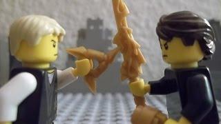 Lego Ninjago Battle Between Brothers (Stop Motion)