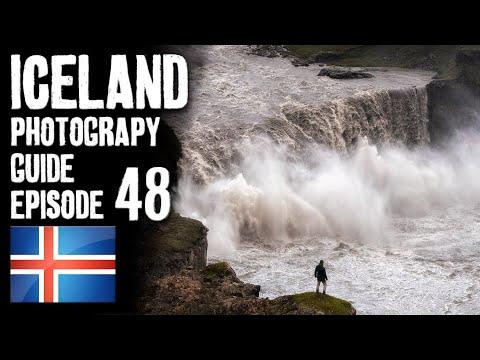 secret-epic-waterfall---hafragilsfoss- -iceland-landscape-photography- -4k