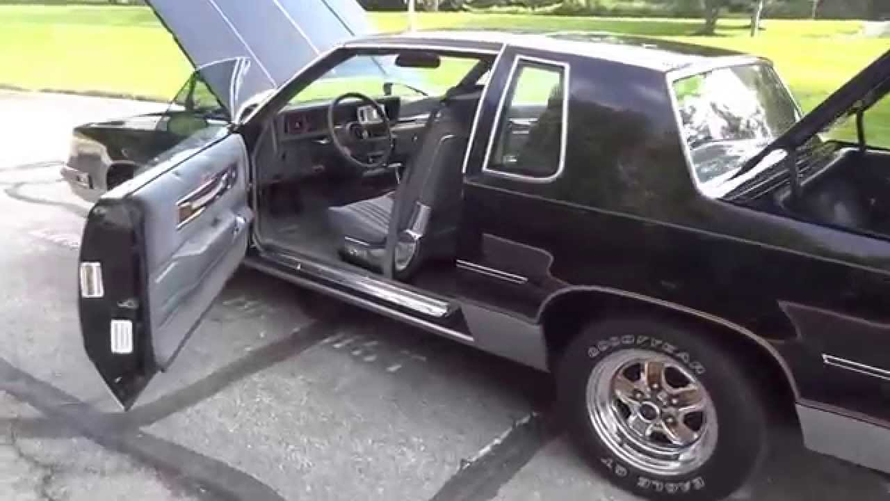 1986 oldsmobile cutlass salon coupe 442 youtube for 1986 oldsmobile cutlass salon