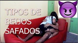5 TIPOS DE BEIJOS MAIS SAFADOS +18 ANOS