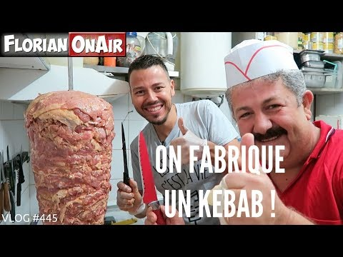 On fabrique une BROCHE de KEBAB MAISON! - VLOG #445